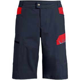 VAUDE Altissimo III Shorts Hombre, azul/rojo